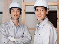 信頼のおける自社の職人が施工