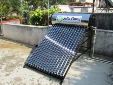 太陽光温水器撤去