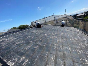 安城市 H様邸 イージーガードによる屋根改修工事
