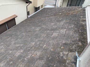 安城市B様邸 屋根塗装工事